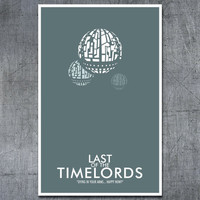 Doctor Who Poster The Last of the Time Lords by ModernStylographer