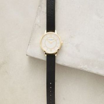 Olivia Burton Wonderland Noir Watch in Black Size: One Size Watches