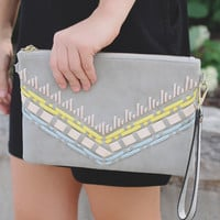 Laced With Envy Clutch