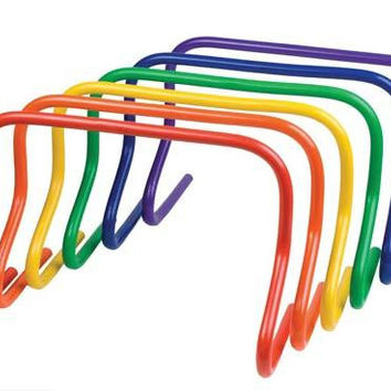 "12"" Colored Speed Hurdles - Set of 6"