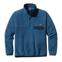 Patagonia Men's Lightweight Synchilla® Snap-T® Pullover | Glass Blue
