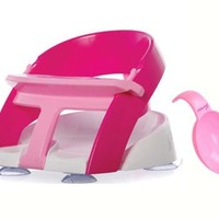 Dreambaby Deluxe Bath Safety Seat - Limited Edition Pink with Bonus Water Scoop