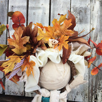 Flower Bonnet, Flower Hat, Divine Fall Bonnet, Baby Bonnet, Photo Prop, Photography Prop, Cream Baby Hat, Flower Hat