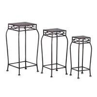 French Market Planter Stands