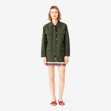 Kate Spade Saturday Slant-pocket Jacket