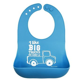 BELLA TUNNO BIG TRUCKS WONDER BIB
