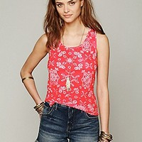 One Teaspoon  Free People Paisley Tank at Free People Clothing Boutique