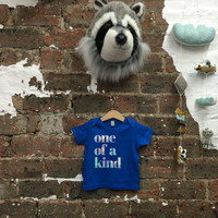 Baby 'One of a Kind' Organic T-Shirt | Blue