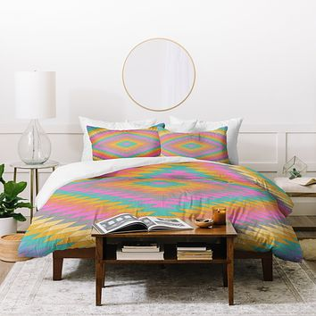 Bianca Green Ancient Rainbow Duvet Cover