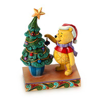 Winnie the Pooh ''Trim the Tree with Me'' Figure by Jim Shore