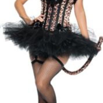 Adult Carousel Sexy Leopard Costume | Party City
