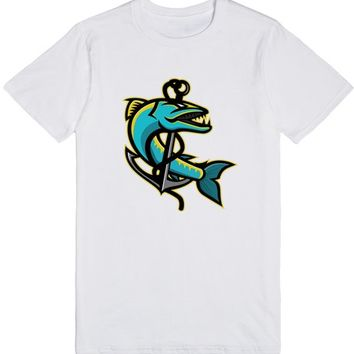 Barracuda and Anchor Mascot | T-Shirt | SKREENED