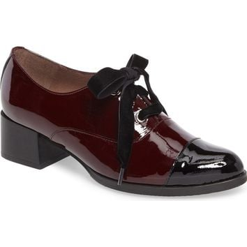 Wonders Lace-Up Oxford Pump (Women) | Nordstrom