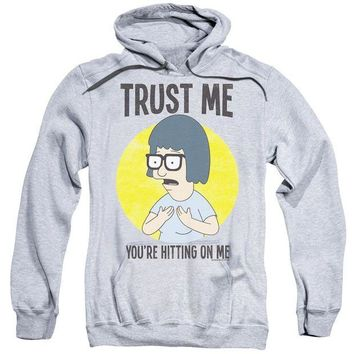 ac NOOW2 Bobs Burgers - Trust Me Adult Pull Over Hoodie