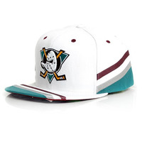 Mitchell & Ness NHL Anaheim Ducks Jersey Snapback Hat