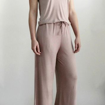 Ultra Soft Pajama Set in Dusty Pink
