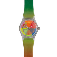 The Metropolitan Museum of Art Color Magic® Rainbow Band Kids Watch