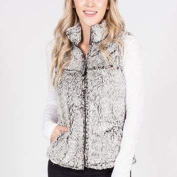 Two Tone Sherpa Vest