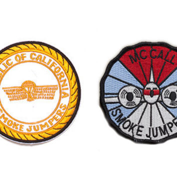 Smokejumper & Hot Shot Badges