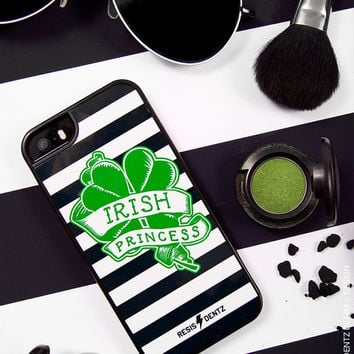 St Patricks Day - Irish Princess - Cell Phone Case - Cover - iphone 5 - 5s - iphone 6 - 6s - iphone 6 Plus - 6s plus - 3D Case - Bumper Case