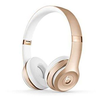 PEAP Beats Solo3 Wireless On-Ear Headphones - W1-core chip - Gold
