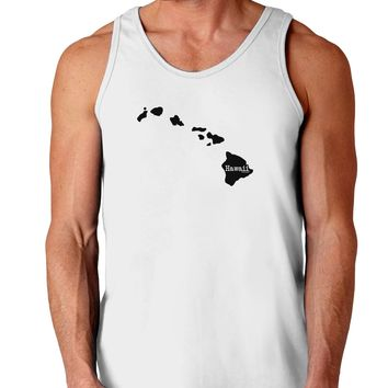 Hawaii - United States Shape Loose Tank Top  by TooLoud