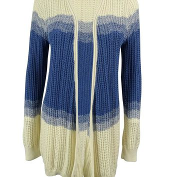 American Living Women's Open Knit Cardigan