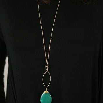 Behind Blue Eyes Necklace
