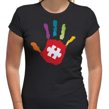 Autism Awareness Hand