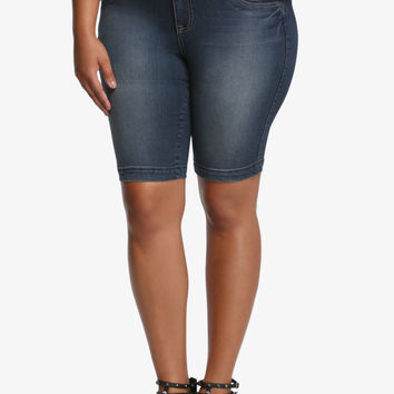 Torrid Jegging Bermuda Shorts - Medium Wash