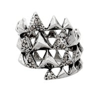 House of Harlow 1960 Jewelry Pyramid Wrap Ring