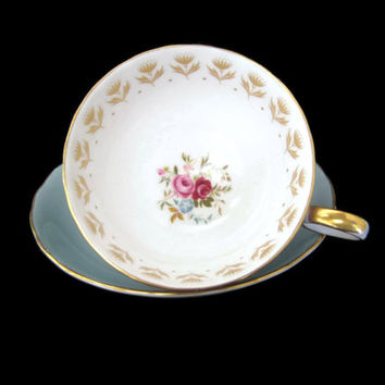 Vintage Tea Cup Susie Cooper Rose Bouquet