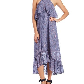 Ella Moss Stargazer Tiered Chiffon Maxi Dress