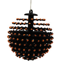 Halloween Halloween Spiny Ornament Black Halloween Ornament