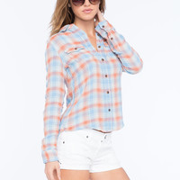 VANILLA STAR Plaid Womens Shirt | Flannels & Plaids