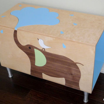 Toy Storage Box Chest Trunk Organizers for Baby Toys by MODBOX