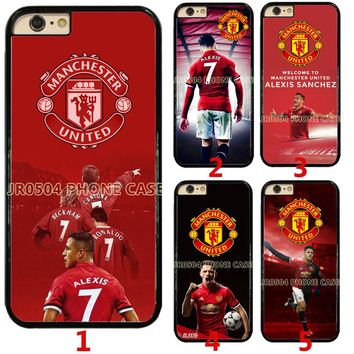 Manchester United FC Alexis Sanchez Hard Phone Case Cover For iPhone / Samsung