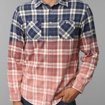 Urban Renewal Dip-Dye Flannel Shirt