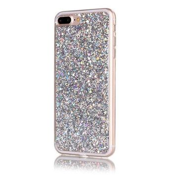 CREYV2S GBSELL Glitter Sparkle Case Cover Skin For iPhone 7Plus 5.5