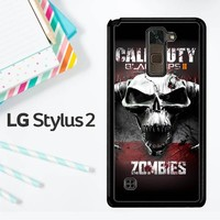 Call Of Duty Black Ops Zombie Y0097 LG Stylus 2 / LG Stylo 2 Case