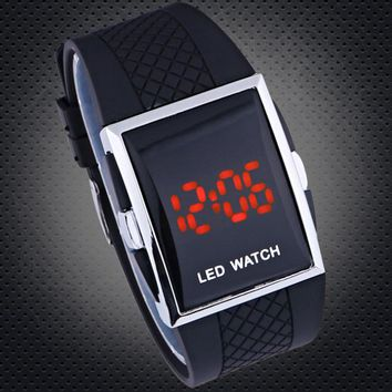 Square Digital Watches Men's led watch Male Military Wristwatches sports watches
