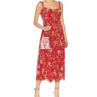ZIMMERMANN Floral-printed Silk Long Romper/Jumpsuit Size OS (one size) 50% off retail