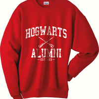 Hogwarts Alumni est 993 Harry Potter Sweatshirt S to 2XL Hanes P160