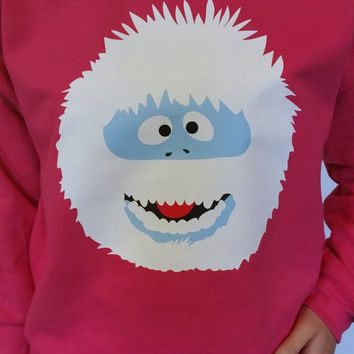 UGLY CHRISTMAS SWEATER -Washable- The Abominable Snow Monster!