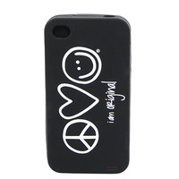 I Am Original Black iPhone 4S Case