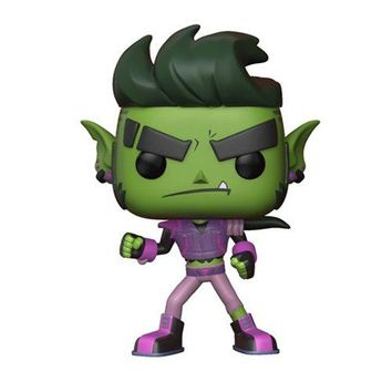 Preorder March 2018 Teen Titans GO! The Night Begins to Shine Beast Boy Pop! Vinyl Figure #604