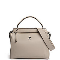 Fendi - Dot.com Leather Satchel - Saks Fifth Avenue Mobile