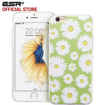 ESR Soft Silicone Back Cover Bumper Case Secret Garden Series for iPhone 6 Plus / 6s Plus