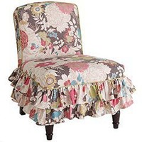 Pier 1 Imports - Pier 1 Imports > Catalog > Furniture > Pier1ToGo Product Details - Audra Painted Floral Slipcover