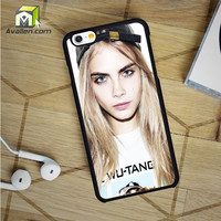 Cara Delevingne Fashion Model Star iPhone 6 Case by Avallen
